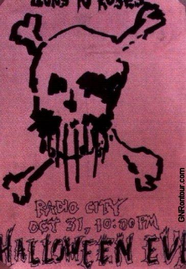 Guns N' Roses en Europa 2010 (rumores, fechas, etc. acá) - Página 7 19851031flyer1